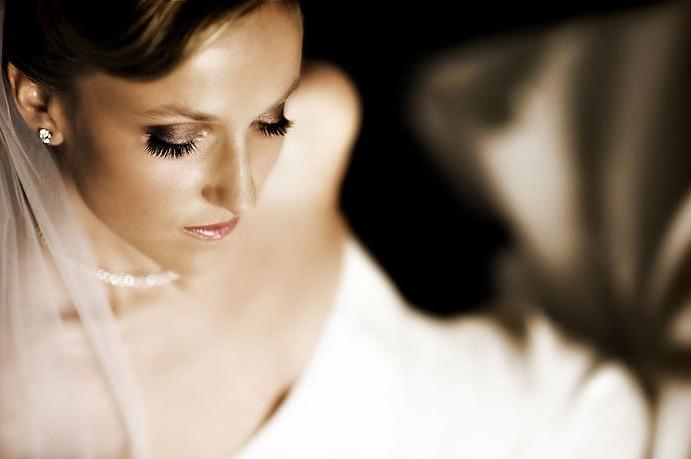 El escote del vestido de novias