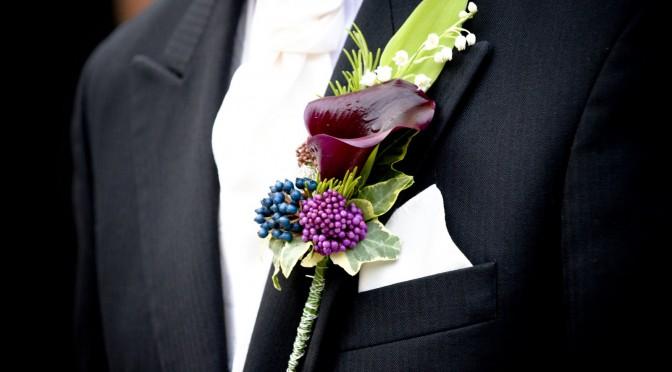 El prendido del novio para bodas