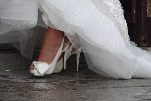 Zapatos de la novias