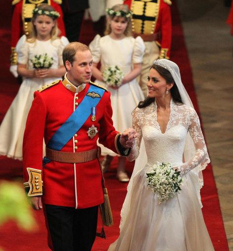 Boda real del principe Guillermo de Gran Bretaña