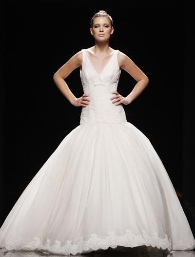 Elegir el vestido de novias