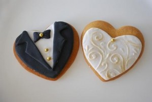 Galletas para bodas, un regalo original