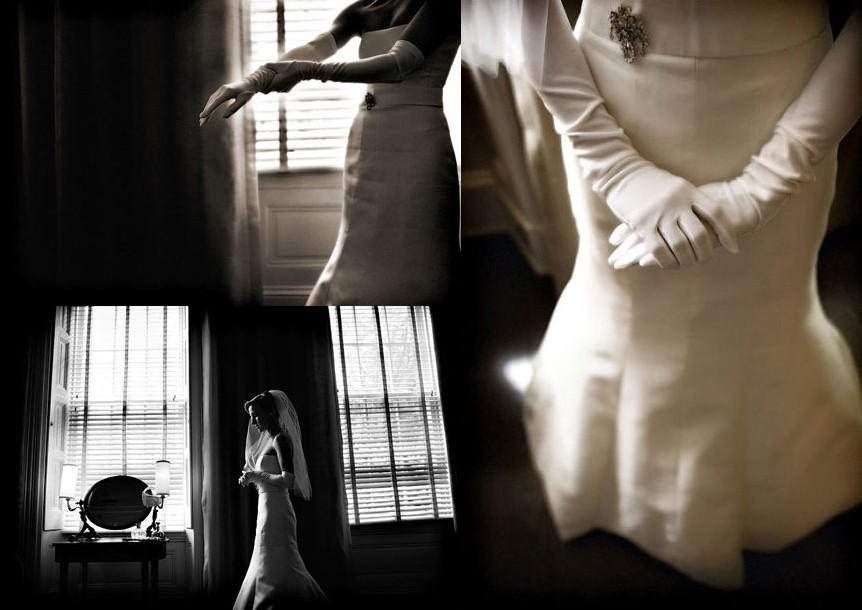 Novias vintage, detalles de novias