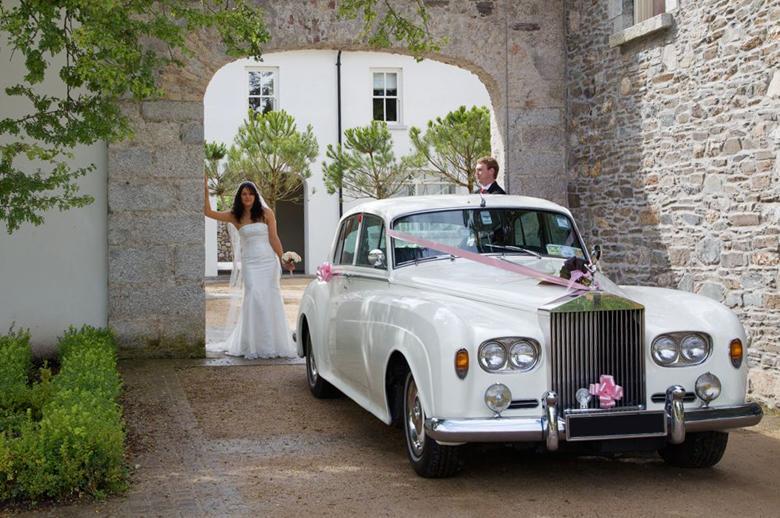 Coche clasico para bodas