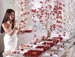 Decoración bodas con papel