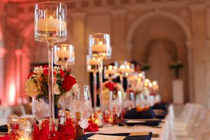 Centros de mesa con velas F01