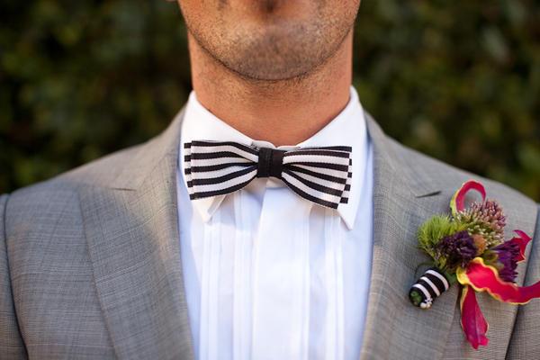 La pajarita en las bodas