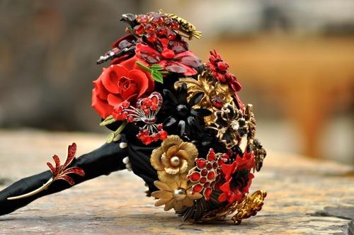 Ramo de novia sin flores, otras opciones para el ramo de bodas