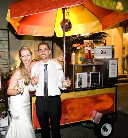 Hotdogs para bodas
