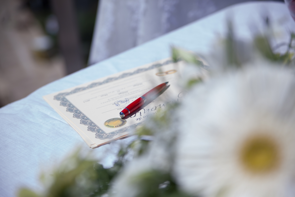 Boda civil tr mites y documentaci n necesaria bodanova for Tramites matrimonio civil