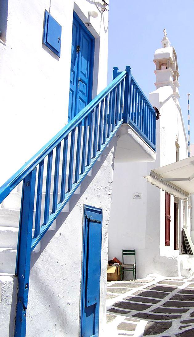 Boda Griega detalle calle grecia