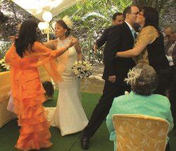 En Jardin Botanico la concepcion Malaga la boda de 10
