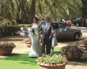 En Jardin Botanico la concepcion Malaga la boda de 13