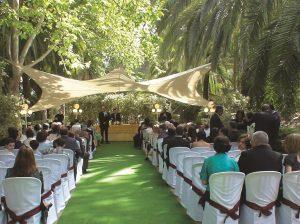 En Jardin Botanico la concepcion Malaga la boda de 14