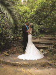 En Jardin Botanico la concepcion Malaga la boda de 5