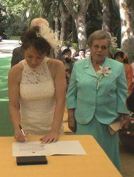 En Jardin Botanico la concepcion Malaga la boda de 8