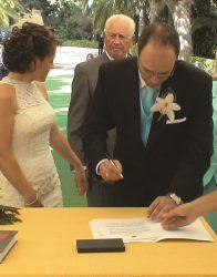 En Jardin Botanico la concepcion Malaga la boda de 9