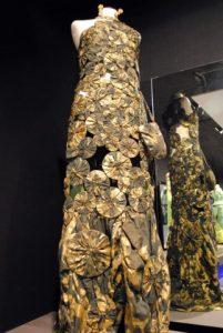 Museo de vestidos de papel F03