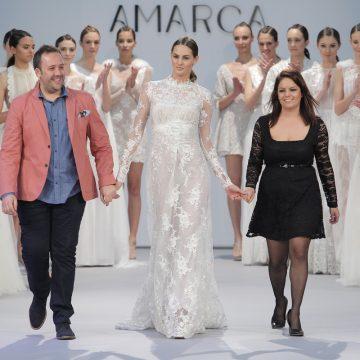Amarca tendencias en vestidos de novias
