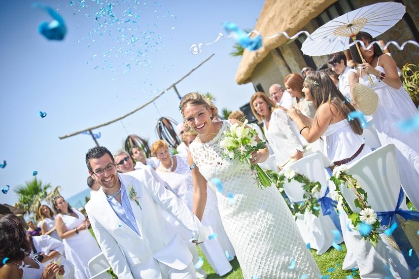 La Boda de Marta y Emilio en la playa 4. Bodas Málaga Marbella Fuengirola Mijas Nerja Velez Torremolinos Benalmadena Estepona Weddings Spain Mariages Espagne
