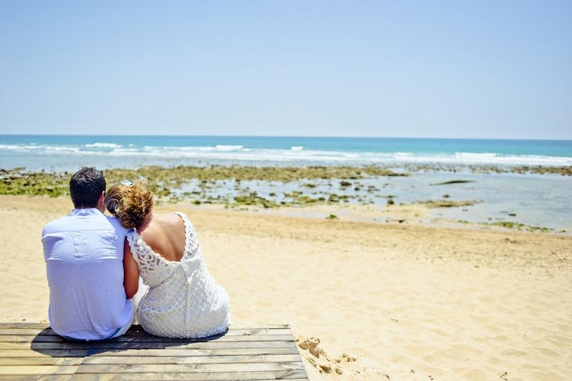 Bodas en la playa Tarifa Zahara de los Atunes. Bodas Málaga Marbella Fuengirola Mijas Nerja Velez Torremolinos Benalmadena Estepona Weddings Spain Mariages Espagne