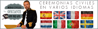 Oficiante ceremonias civiles Malaga